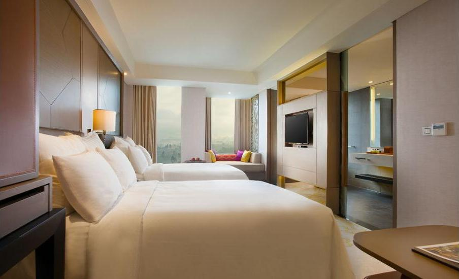 InterContinental Bandung Dago Pakar - Kamar Klub, 2 Tempat Tidur Double Regular Plan