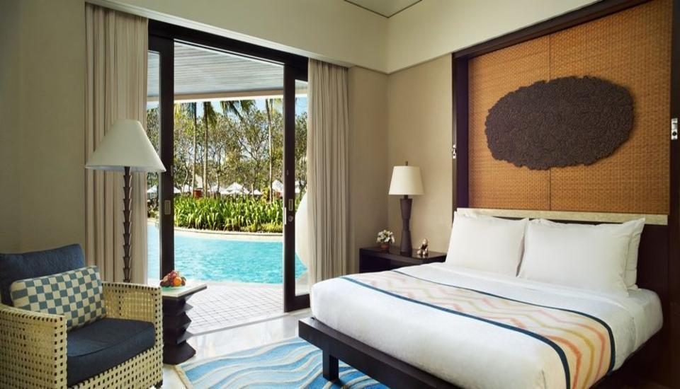 Conrad Bali - Kamar Deluks, 1 tempat tidur king, pemandangan laguna Regular Plan