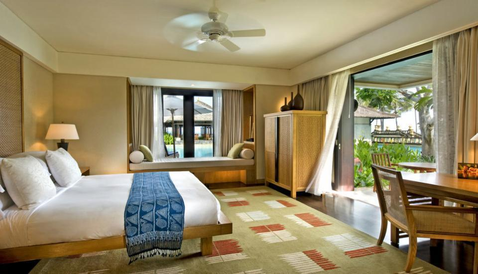 Conrad Bali - Kamar Deluks, 1 tempat tidur king, pemandangan kebun Regular Plan