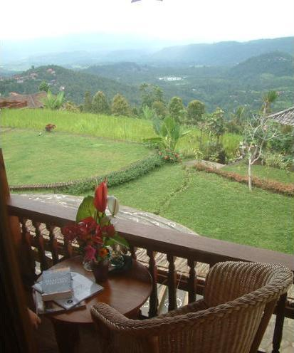 Puri Lumbung Cottages Bali - Balcony