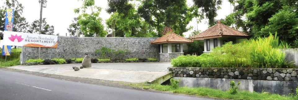 Amata Borobudur Resort Magelang - Hotel Front