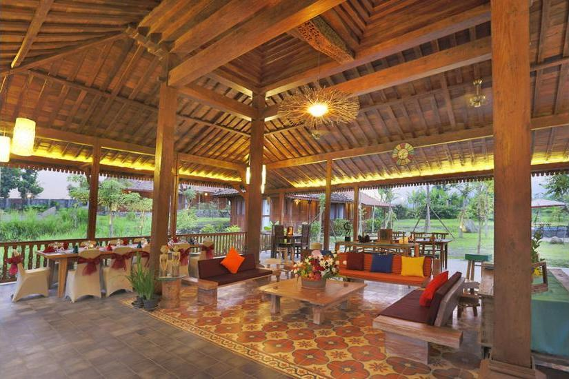 Amata Borobudur Resort Magelang - Gazebo