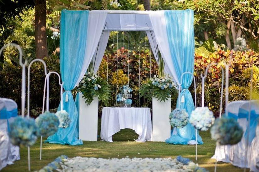 The Lovina Bali - Outdoor Wedding Area