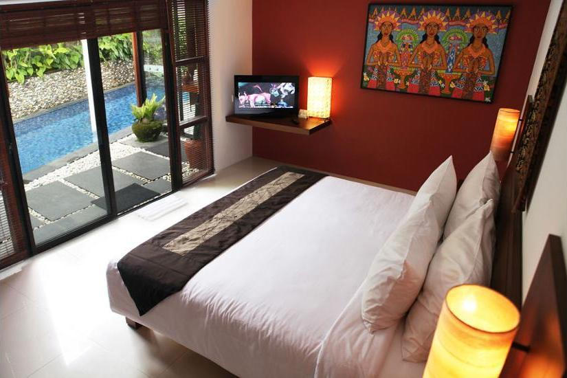 Ubud Green Resort Villas Bali - Living Room