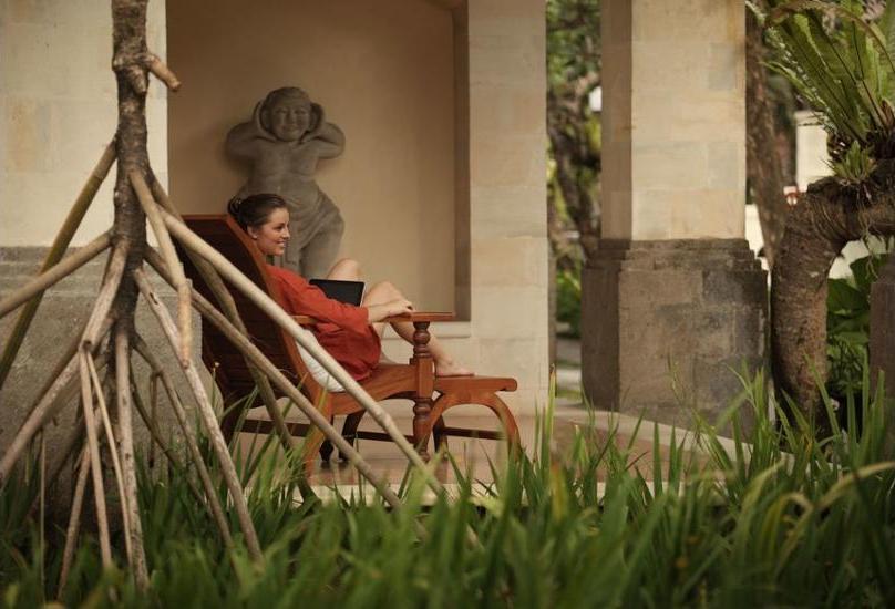 Griya Santrian Bali - Property Grounds