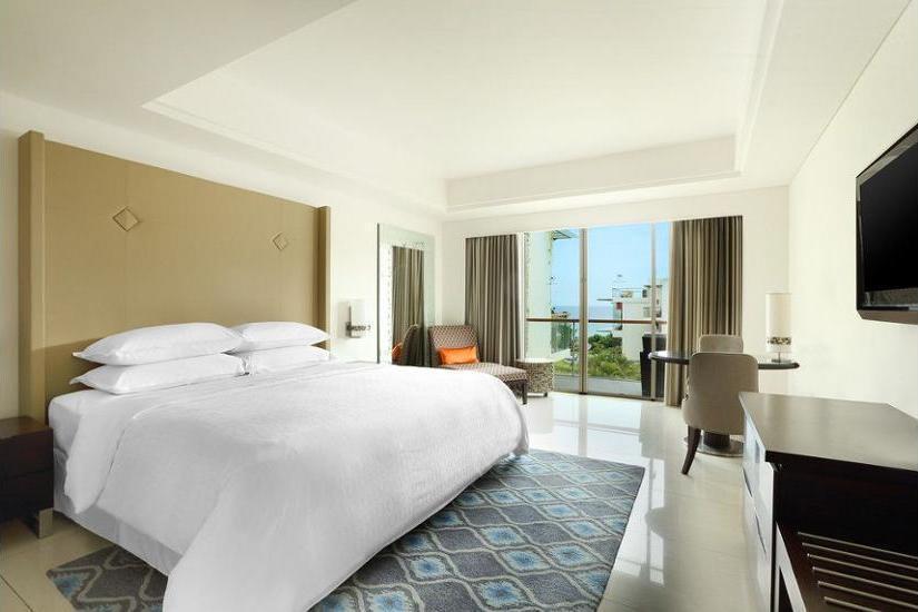 Sheraton Bali Kuta Resort Bali - Kamar Deluks, pemandangan samudra Regular Plan