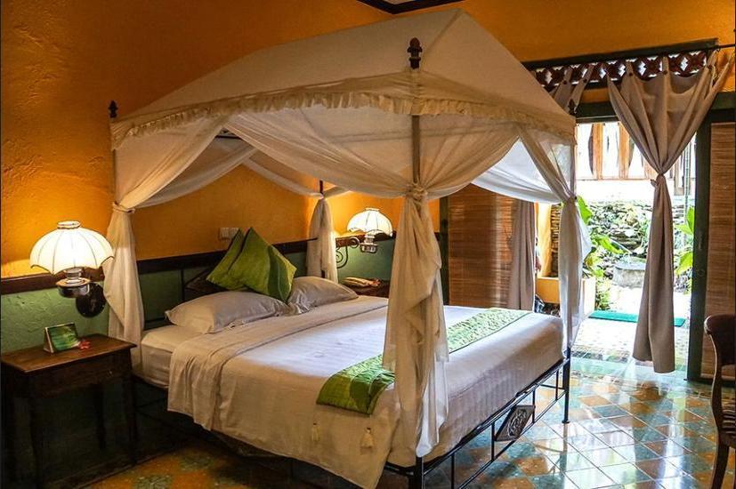 Dusun Jogja Village Inn Jogja - Kamar Deluks, 1 kamar tidur, pemandangan kebun Regular Plan