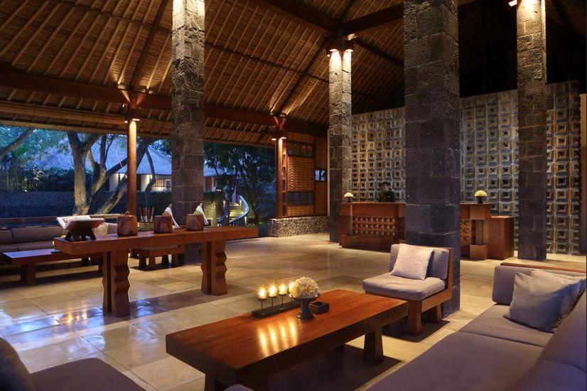 Alila Ubud - Lobby Sitting Area
