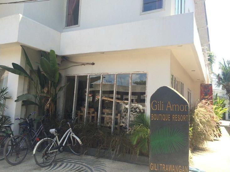 Gili Amor Boutique Resort Lombok - Hotel Front