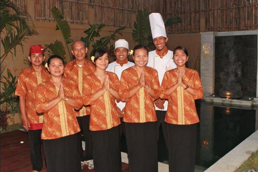 Villa Seriska Satu Sanur Bali - Spa Reception