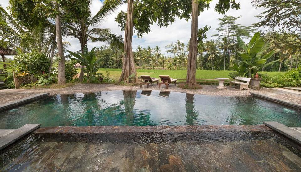 Umasari Rice Terrace Villa Bali - Kolam Renang