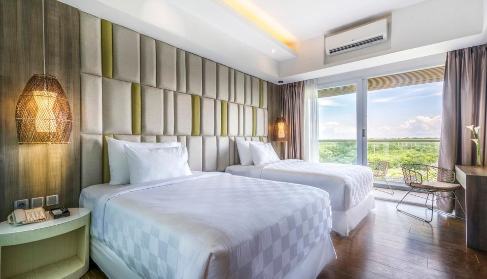 The Crystal Luxury Bay Resort Nusa Dua - Bali Bali - Deluxe Ocean View Rooms - Twin  Regular Plan