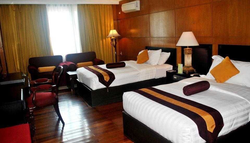 Hotel Bumi Senyiur Samarinda - Grand Deluxe Twin Room Regular Plan