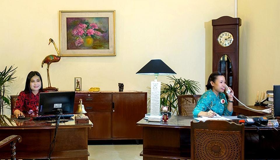 Margo Utomo Eco Resort Kalibaru - Pelayanan kantor depan