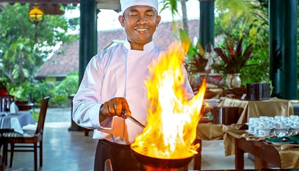 Margo Utomo Eco Resort Kalibaru - Pelayanan di restauran
