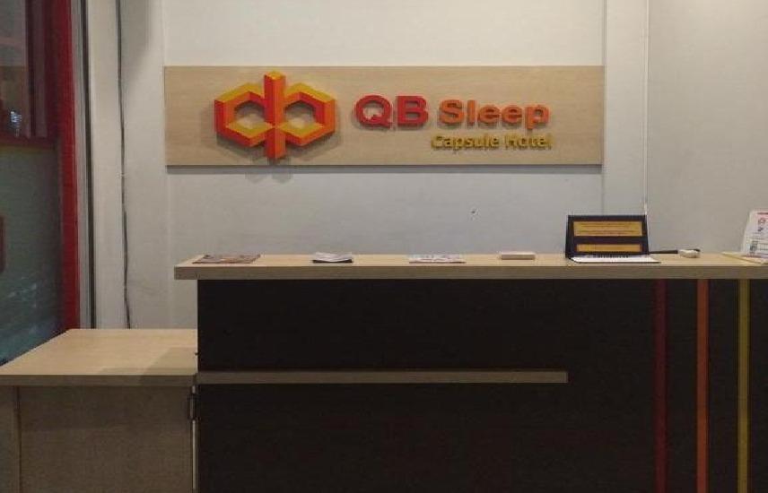 QB Sleep Capsule Hotel Bali - receptionis