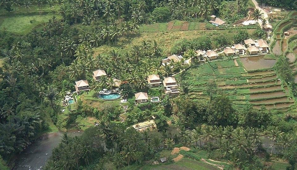 Villa Semana Resort & Spa Bali - Aerial View of VS - HRes