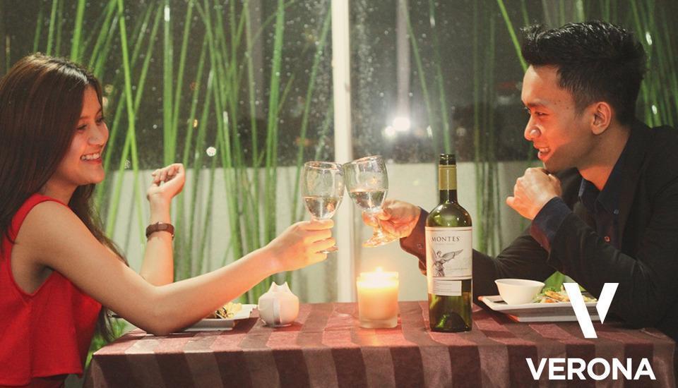 Verona Palace Bandung - makan malam