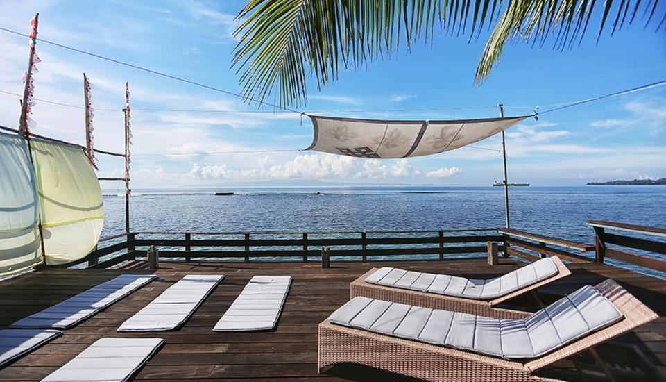 Pondok Pisang Candidasa Bali - One-Bedroom Ocean View Regular Plan