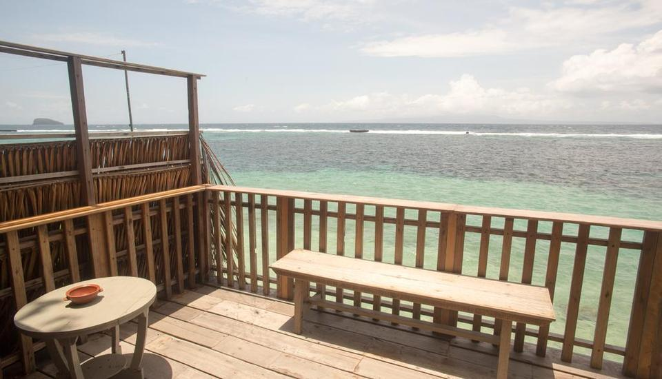 Pondok Pisang Candidasa Bali - One-Bedroom  Beach Front Regular Plan