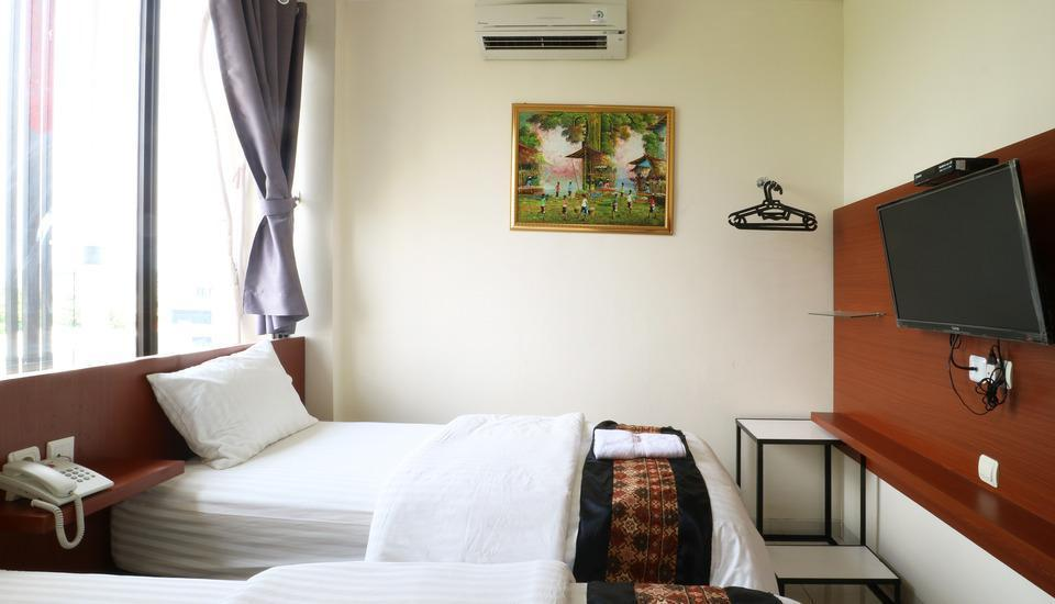 Hotel Celvasha Jakarta - Deluxe Twin 3 Night Stay 44%