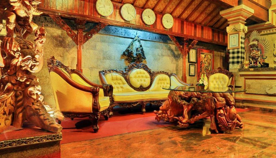 Satriya Cottages Bali - Lobby Utama