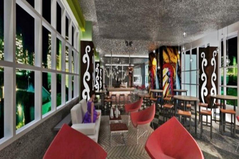 Hotel Dafam Fortuna Seturan - Sky lounge