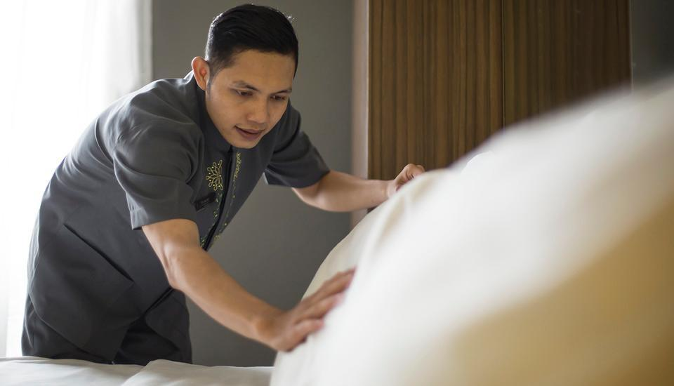 Pesonna Hotel Tegal Tegal - Cleaning Service