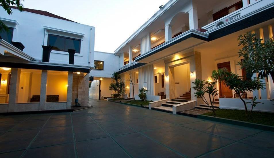 Omah Pari Boutique Hotel Yogyakarta - tampilan luar hotel
