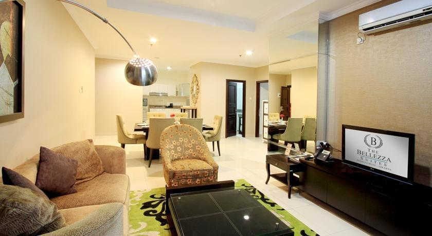 The Bellezza Suites Jakarta - Ruang tamu