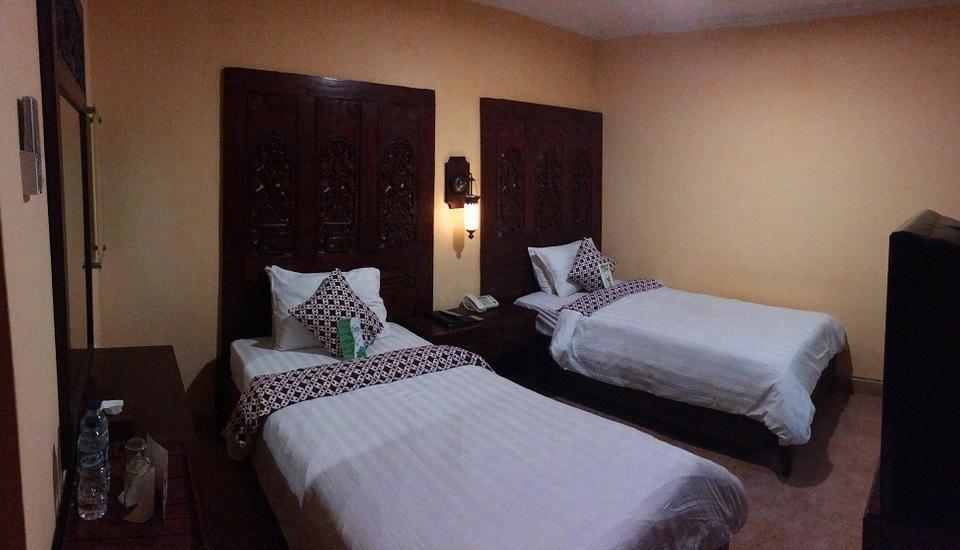 Rumput Hotel Yogyakarta - Kamar Illalang Twin Regular Plan