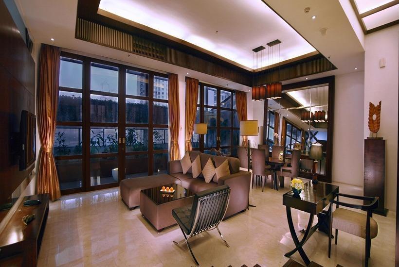 Aston Kuningan Suites Hotel Jakarta - Ruang tamu