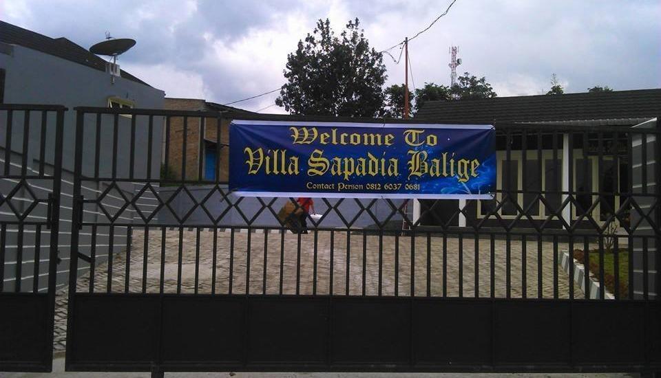 Sapadia Villa Balige Balige - Appearance