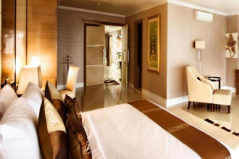 Palace Hotel Cipanas - Kamar tamu