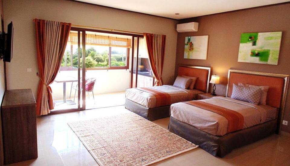 Puri Sabina Bed and Breakfast Bali - Deluxe Twin Room #WIDIH - Weekend Promotion Pegipegi