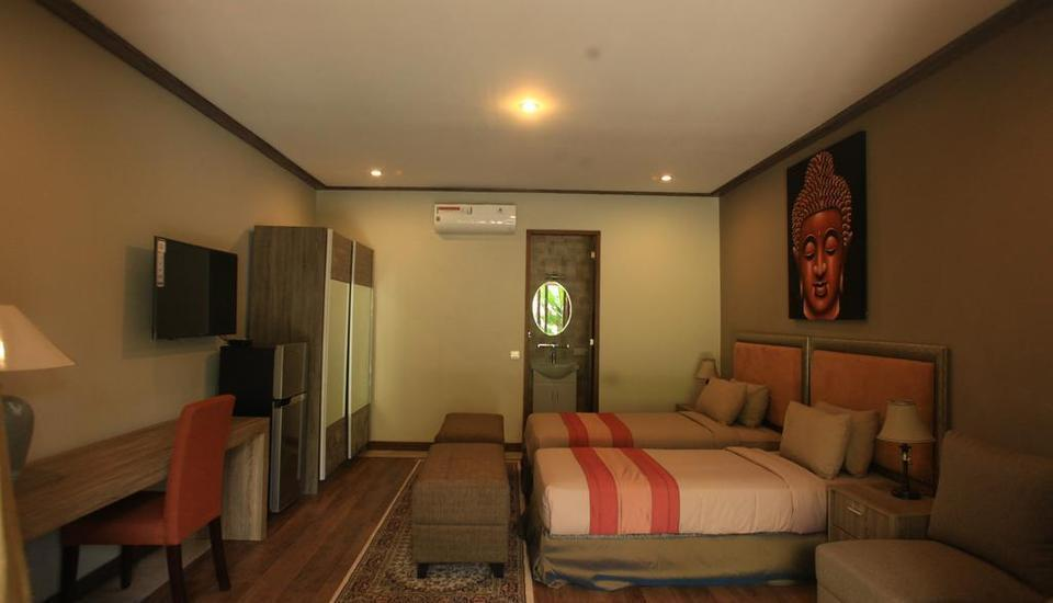 Puri Sabina Bed and Breakfast Bali - Pool Deck Room Basic Deal 25%