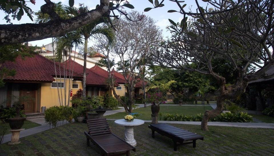Puri Dalem Hotel Bali - Taman