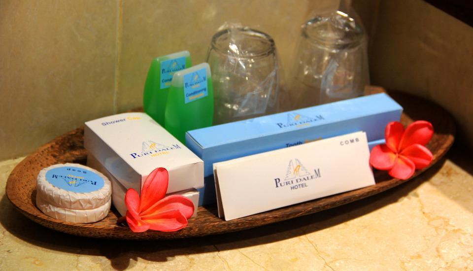 Puri Dalem Hotel Bali - Perlengkapan Tamu