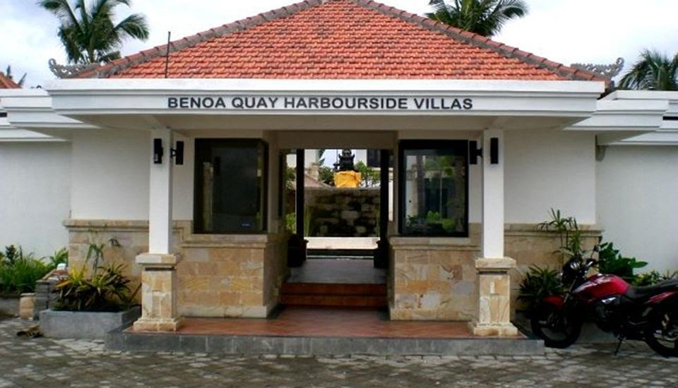 Benoa Quay Harbourside Villas Bali - Pintu masuk utama