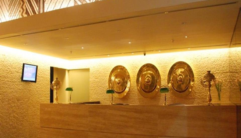de JAVA Hotel Bandung - Resepsionis