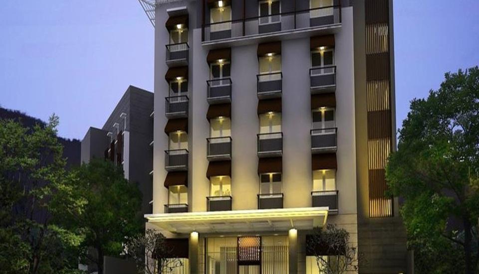 de JAVA Hotel Bandung - Tampilan Luar Hotel