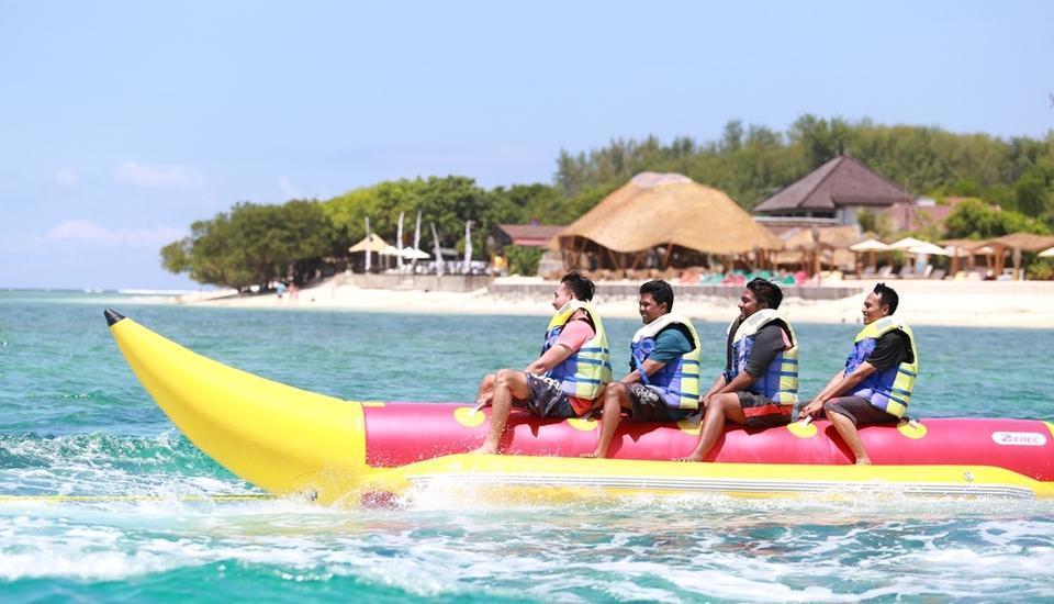 Hotel Villa Ombak Lombok - Perahu pisang
