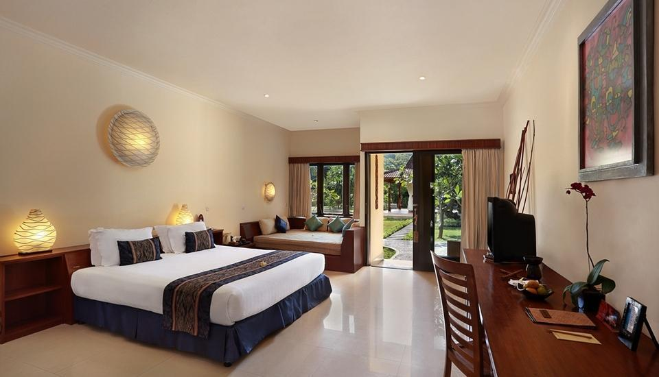 Hotel Villa Ombak Lombok - Deluxe Ombak Room Low Season Disc 45% OFF