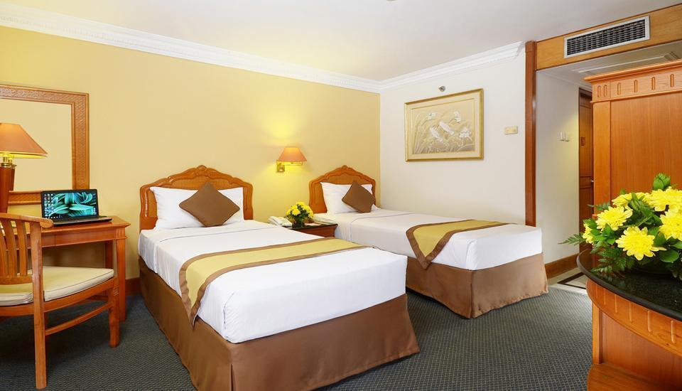 Hotel Jayakarta Jakarta - Kamar Deluxe Tanpa Sarapan Longstay Plan