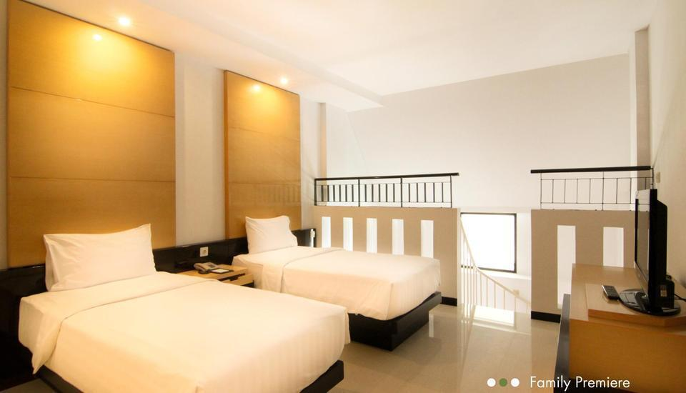 Hotel Santika Premier Malang - ruang atas family premiere