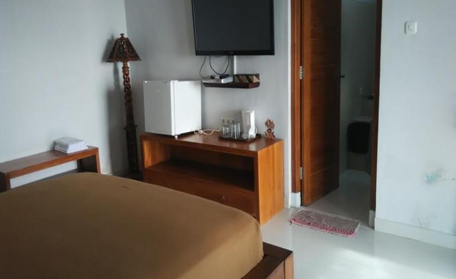 Wahyu Dana Beach Cottage Bali - Kamar tamu