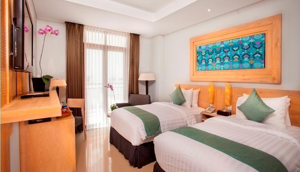 kuta playa hotel Bali - Kamar Deluxe