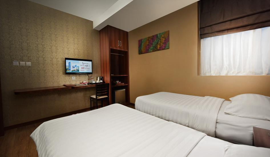 The Batik Hotel Medan - Business Class Twin  Regular Plan