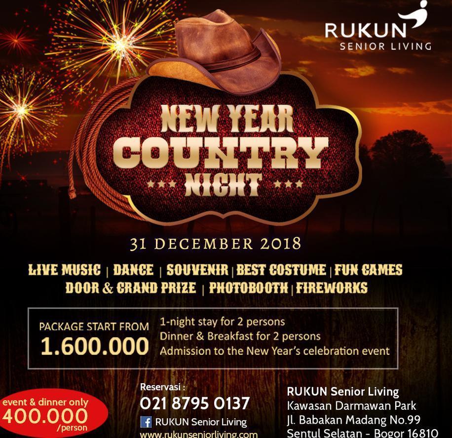 Rukun Senior Living Sentul - New year Packages