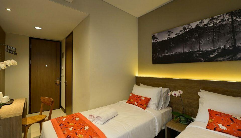 Kytos Hotel Bandung - deluxe and superior room
